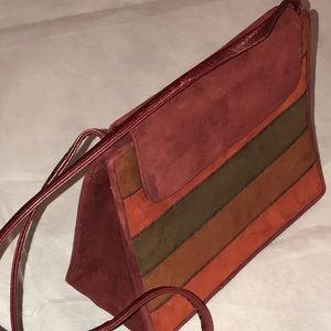 Vintage stuart weitzman Suede purse